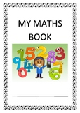 Maths Book cover page