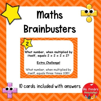 Maths Brainbusters (Problem Solving)