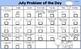 Maths Calendar Problem of the Day
