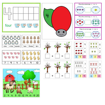 Maths Center Activities Bundle