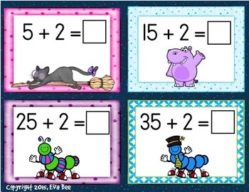 Maths Centre Number Problem Cards (Addition and Subtraction)