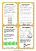 Maths Challenge Homework Task Cards