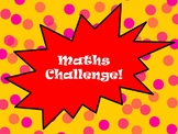 Maths Challenge for KS1