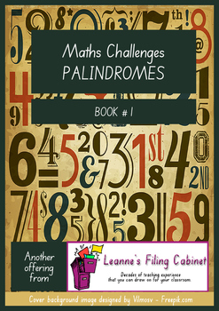Maths Challenges PALINDROMES - Book 1