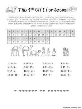 Maths Christmas Activity Pack (Religious) for Lower Primary (Years 1-3)