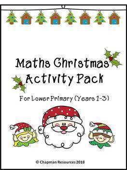 Maths Christmas Activity Pack for Lower Primary (Years 1-3)