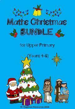 Maths Christmas BUNDLE for Upper Primary (Years 4-6)