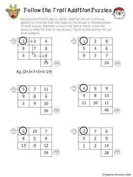 Maths Christmas Bundle for Lower Primary (Years 1-3)