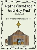 Maths Christmas Pack (Religious) for Upper Primary (Years 4-6)