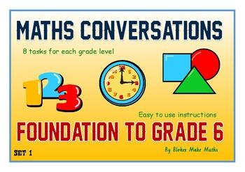Maths Conversations Grades F - 6