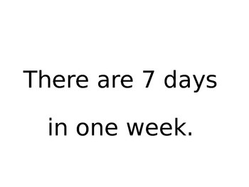 Maths Days of the Week, Months & Language of Time - K, Prep - Aust Curriculum