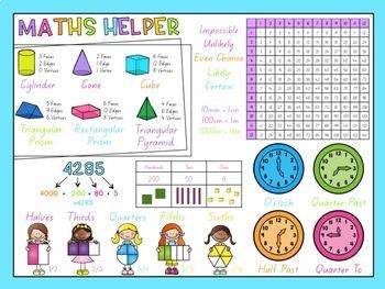 Maths Desk Helper