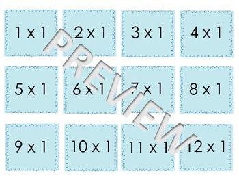 Maths Flash Cards Bundle (multiply & divide)