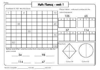 Maths Fluency