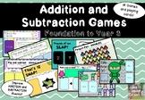 Maths Fluency Card Games For F-year 3