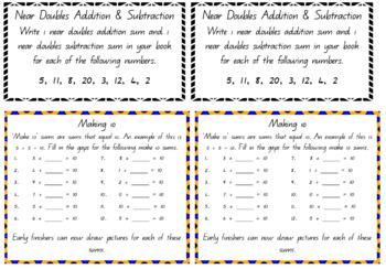 Maths Fluency Task Cards