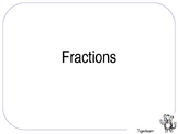 Maths Fractions Introductory ppt