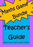 Maths Game Bundle - Teach Learn Create