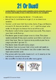 Mathematics Activity Game Cards, Math Game Rotation Stations, Reinforce Concepts