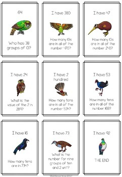 Maths Game: Stage 5 'I have, who has'