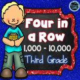 Place Value Games 3rd Grade | Four in a Row Math Game - Numbers 1000 - 10 000