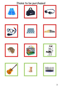 Maths Games - Earn and Buy for EAL /ESL/ ELL