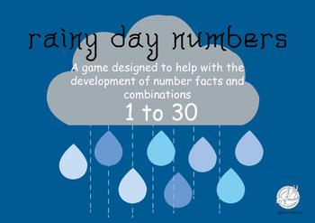 Maths Games: Rainy Day Numbers 1-30