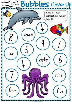 Maths Games - Subtraction to 20 {Australian Version - NSW Font}