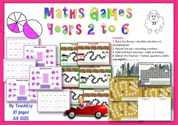 Maths Games Years 2 to 6