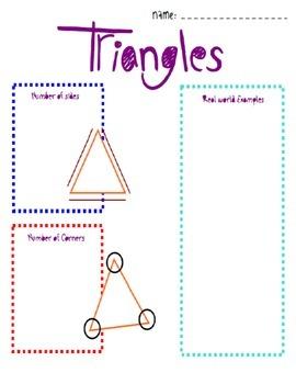 Maths - Geometry - 2D Shapes