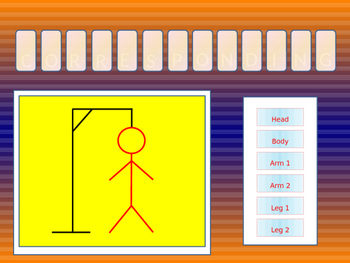 Maths Hangman (Angles in Parallel Lines)