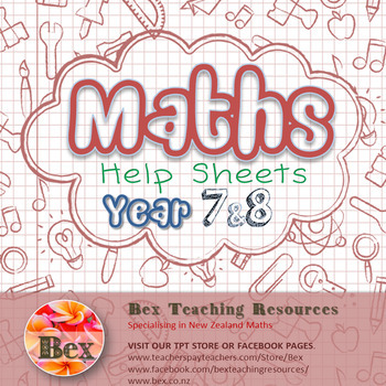 Maths Help Sheets Year 7&8