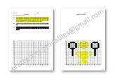 Maths Hidden Picture Co-ordinates Activity Wimbledon Tennis