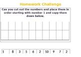 Maths Homework Challenge