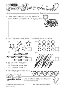 Maths Homework That's Too Good for the Dog – Ages 7-8