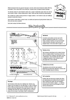 Maths Homework That's Too Good for the Dog – Ages 8-10