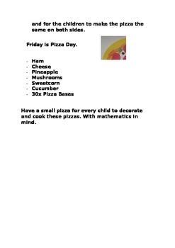 Maths Ideas with Food