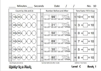 Maths In A Flash: Daily program for number fact skills. Level C—3rd Grade/Gr 2
