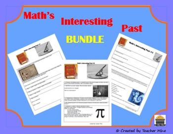 Math's Interesting Past Bundled 3-Pack
