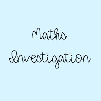 Maths Investigation 1