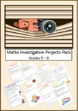 Maths Investigation Projects Pack