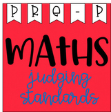 Maths Judging Standards - Pre Primary