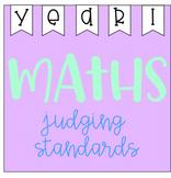 Maths Judging Standards - Year 1