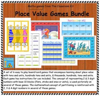 Maths Kit - Place Value Games Bundle