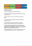Maths Language Hands On And Self Check Activity