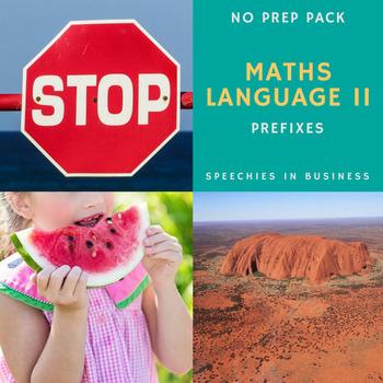 Maths Language II - Prefixes