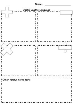 Maths Language Template