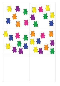 Maths Manipulative Subitising Flashcards 1-10