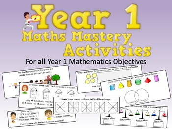 Year 1 Math Mastery Activities