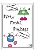 Maths Mental Grade 1-6- Number Knowledge